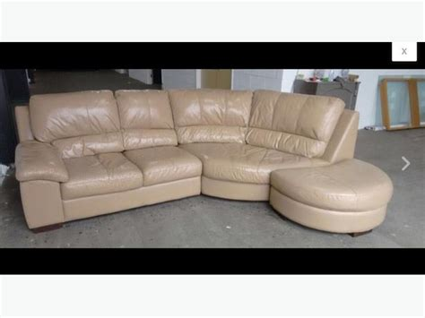 Half Moon Leather Sofa by We Deliver Uk Wide Leather Corner Sofa With Half Moon