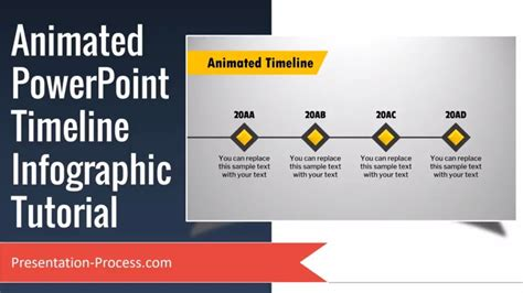 Animated Powerpoint Timeline Infographic Tutorial Youtube Animated Timeline Maker