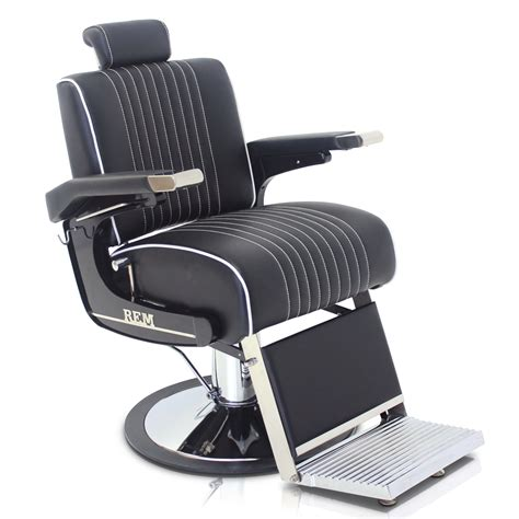 In Barber Chair by Rem Voyager Barber Chair In Black Salon Supplies