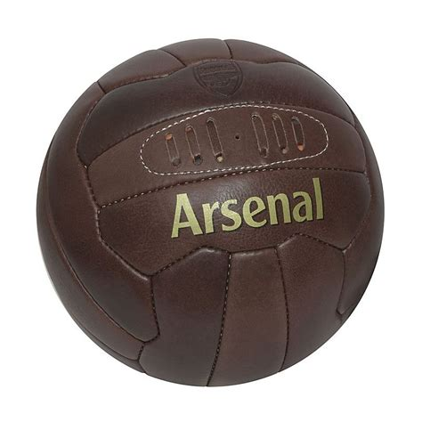 arsenal direct arsenal retro heritage football footballs by product