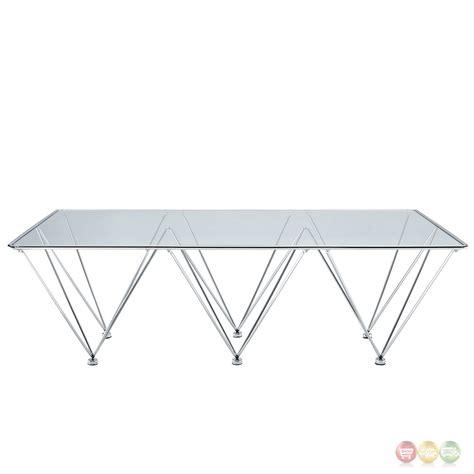 geometric glass coffee table modern glass top coffee table geometric coffee table