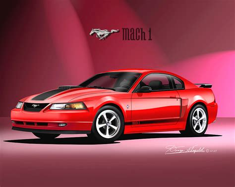 ford mustang prints 1986 2004 ford mustang prints posters by danny
