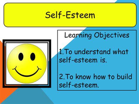 Building Self Esteem Ppt Building Self Esteem By Cassius82 Teaching Resources Tes