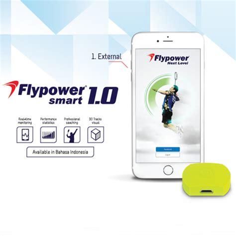 Raket Flypower Batik flypower smart 1 0 tingkatkan perfoma pebulutangkis