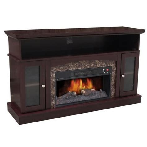electric fireplace media unit living rooms deco throw