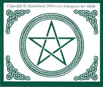 archangels of magick rituals for prosperity healing wisdom divination and success books pentagram bumper sticker oathstoneoathstone