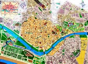 Seville Spain Map by Seville Spain Map Imsa Kolese