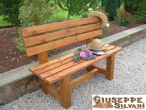 panchina in legno panchine e tavoli in legno www giuseppesilvani it