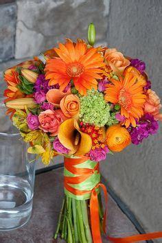 Flower Shops In Winnipeg Manitoba - orange and green wedding