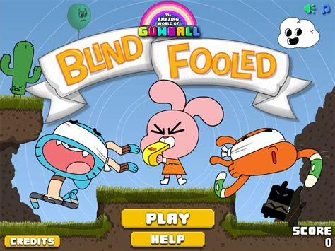 The Amazing World Of Gumball Blind Fooled gumball blind fooled hacked cheats hacked free