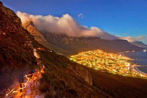 table mountain national park mountain in south africa
