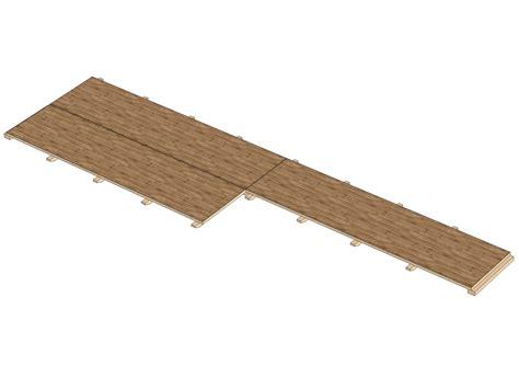 pedane in legno pista da ballo pedana in legno eco wood by selvolina