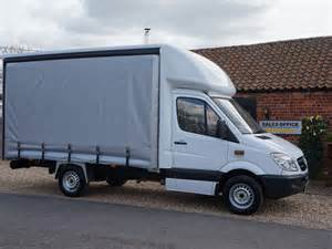 Mercedes Sprinters For Sale Used Mercedes Sprinter Curtain Side For Sale Vantastic