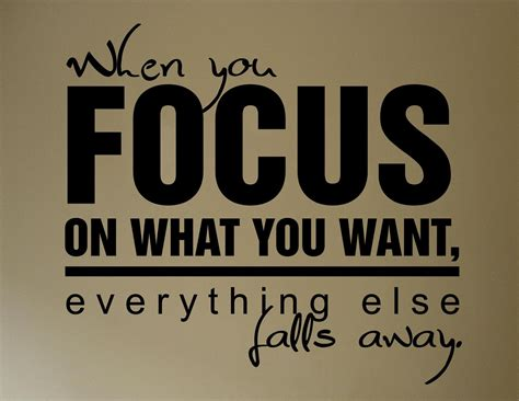 Does An Mba Need A Concentration Matter by Focus Stay Focused Quotes Quotesgram