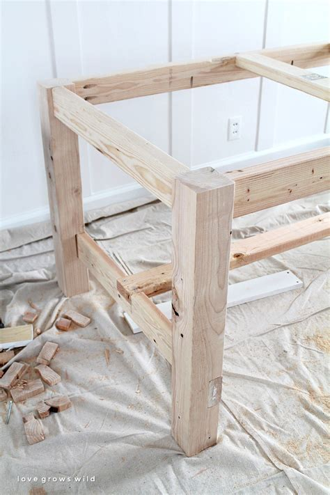 how to make a farmhouse dining table large and beautiful diy farmhouse table love grows wild