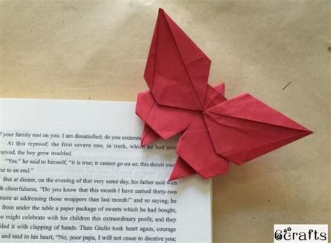 Origami Butterfly Bookmark - 1000 ideas about origami bookmark on corner