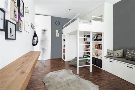 kinderzimmer design jugendzimmer hochbett skandinavisch kinderzimmer