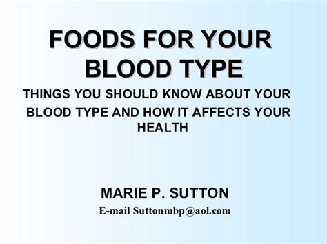 What Is It When Blood Is In Your Stool by Foods For Your Blood Type