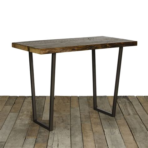 bar height pub table alfresco home vulcano mosaic outdoor bistro table