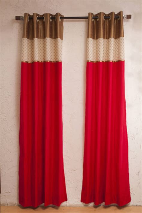 pink silk curtains drapes buy pink silk curtains online