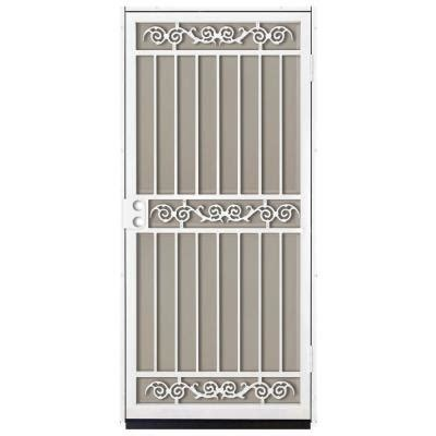 unique home designs sylvan white outswing security door