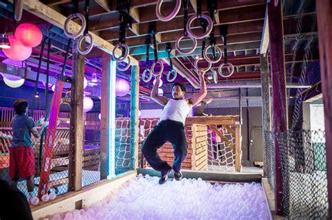 dufferin room store inside toronto s new indoor obstacle course