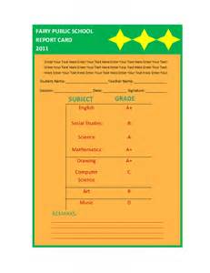 free report card template report templates free report templates part 2