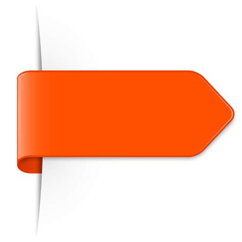 colored bookmarks design vectors set 17 vector label
