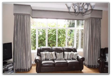 bay window curtains ideas bay window curtain ideas curtains home
