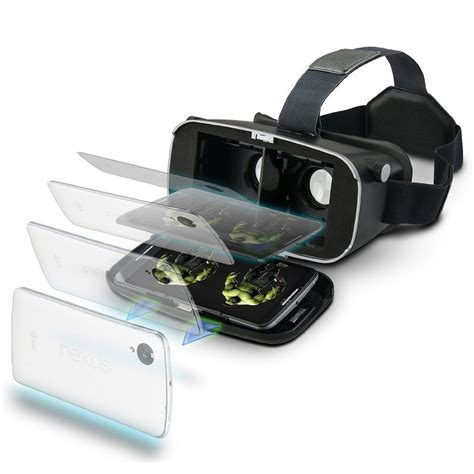 Vr Box Glass Reality 3d Version Rk 5 vr box shinecon version 3d reality vr glasses