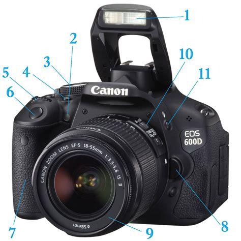 Kamera Dslr Canon Warna Merah fungsi tombol tombol pada kamera slr webmultimedia3