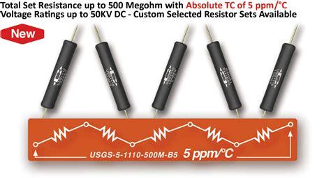 precision high voltage resistor caddock s precision high voltage resistors