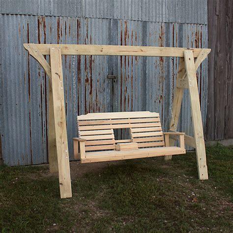 cypress swings lafayette la treated pine a frame w console swing