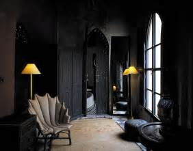 Home Interior Wall Decor Black On Black Moroccan Design Panda S House