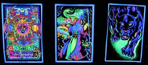 free black light posters check out my blacklight garage