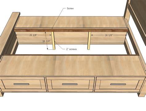 woodwork storage bed wood plans  plans