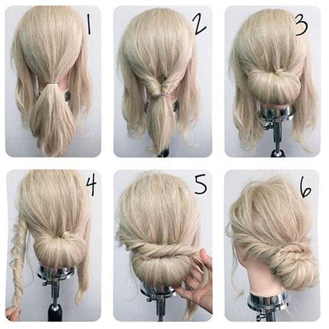 hairstyles for thin hair diy best 25 easy wedding hairstyles ideas on pinterest