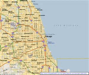 Chicago Illinois Us Map by Chicago Illinois Related Keywords Amp Suggestions Chicago