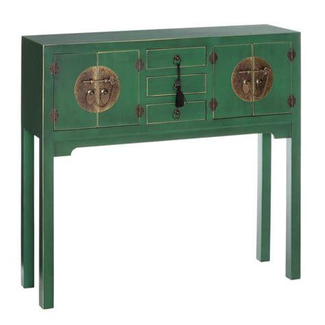 console cinesi etnico outlet consolle scrivania cinese verde