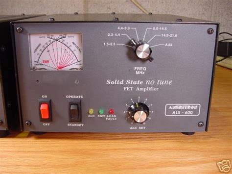 ameritron als  solid state linear amplifier mint