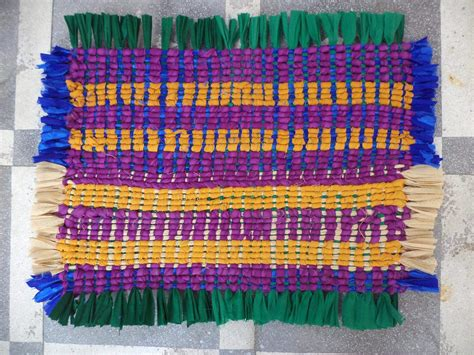 How To Make Floor Mat From Clothes by Best Out Of Waste Door Mats From Wasted Clothes