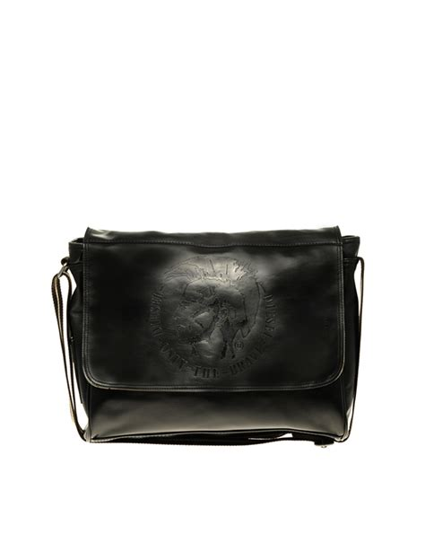 Diesel Bag by Diesel Ralph Messenger Bag In Black For Lyst