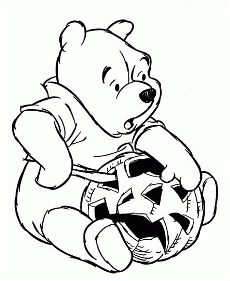 halloween coloring pages winnie the pooh winnie the pooh halloween coloring pages coloring home