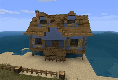 minecraft beach house aesthetics beach house minecraft project