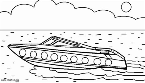 how to draw a rescue boat printable boat coloring pages for kids cool2bkids