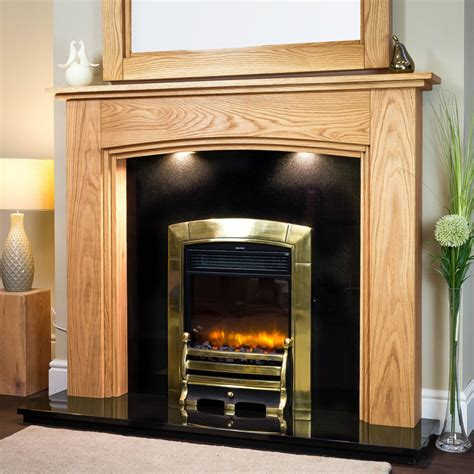 Oak Fireplace Lyndhurst Solid Oak Fireplace Surround Oakfiresurrounds