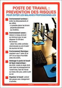 affiche sur la pr 233 vention des risques au travail seton fr