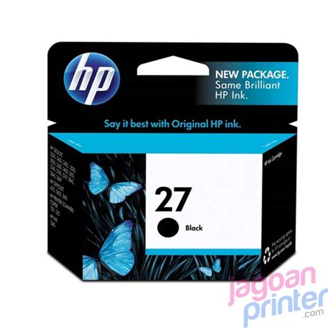 Tinta Hp 27 Black Original Exp jual cartridge hp 27 black murah garansi jagoanprinter