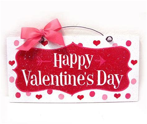 valentines sign happy s day sign hearts and arrow with glitter
