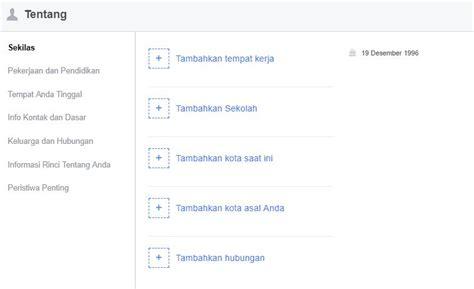 buat akun facebook indonesia cara buat akun facebook carapedi indonesia